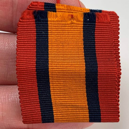 additional image for Boer War Spare Queens South Africa QSA Medal SILK Ribbon - 3.25 Inches