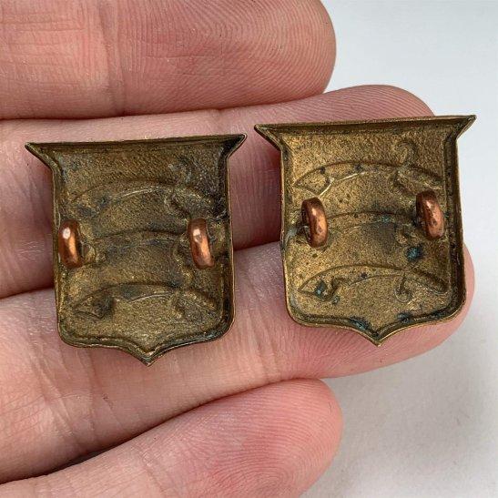 additional image for The Essex Regiment Collar Badge PAIR