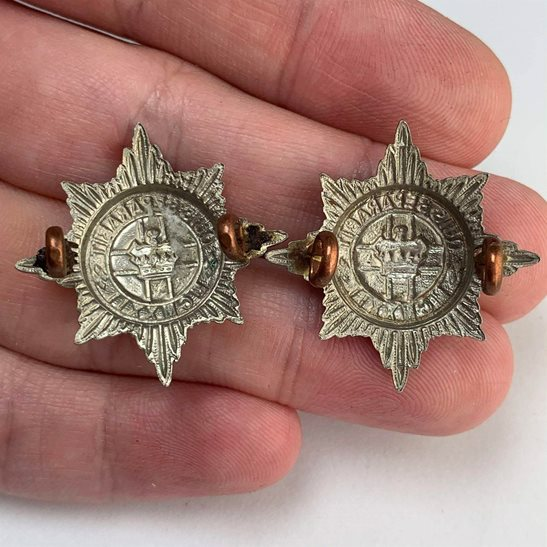 additional image for 4th / 7th Royal Dragoon Guards Regiment 4th/7th Collar Badge PAIR