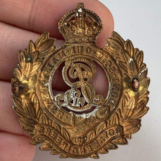 additional image for EDWARDIAN Royal Engineers Corps (Edward VII) Cap Badge