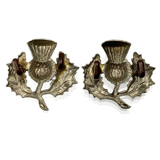 additional image for 14th Battalion, The London Scottish Regiment Collar Badge PAIR