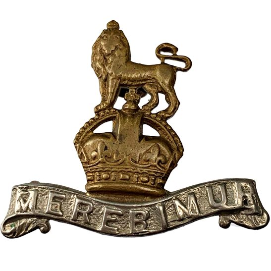 15th Kings Hussars 15th The Kings Hussars Regiment (King's) Collar Badge
