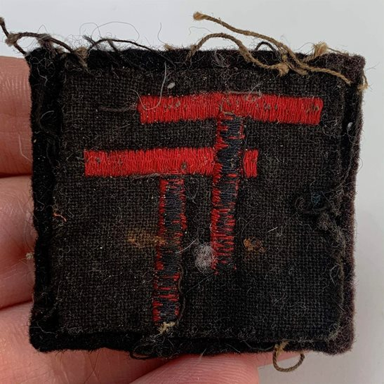 additional image for WW2 50th Northumbrian Division Cloth Formation Sign Patch Badge