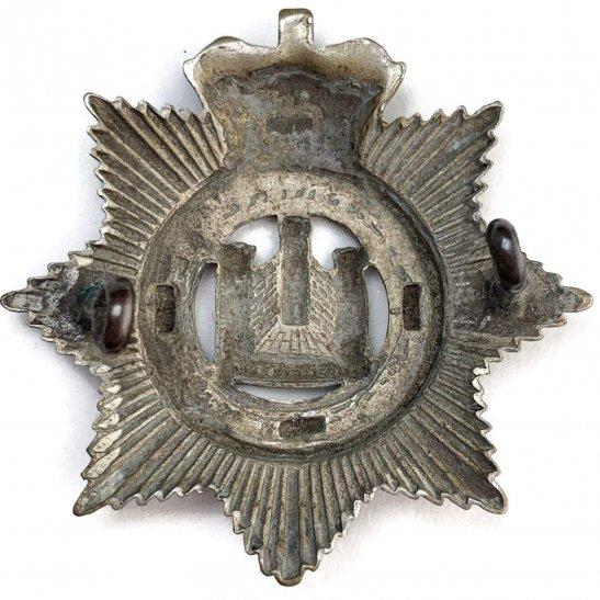 additional image for VICTORIAN Devonshire Regiment Cap Badge - Queen Victoria Crown