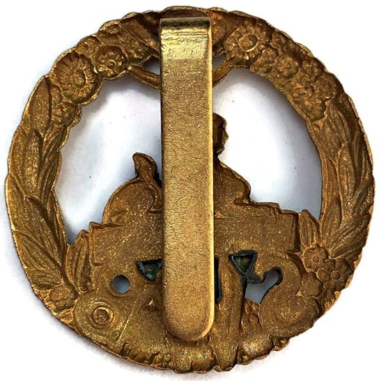 additional image for WW2 South Wales Borderers SWB Regiment Cap Badge