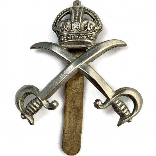 Royal Army Phyical Training Corps RAPTC Royal Army Physical Training Corps Staff RAPTC Cap Badge - J.R. GAUNT LONDON