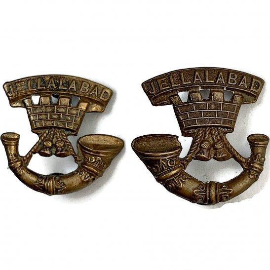 Somerset Light Infantry Somerset Light Infantry Regiment Collar Badge PAIR