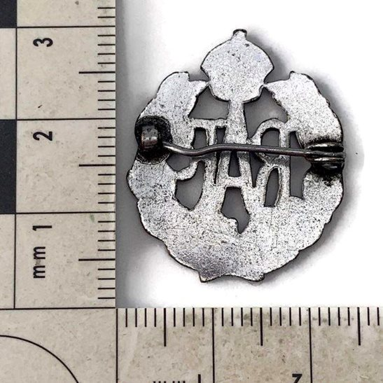 additional image for WW2 Royal Air Force RAF Wings Sweetheart Brooch - 24mm