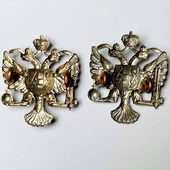 additional image for 1st Kings Dragoon Guards Regiment KDG (King's) Collar Badge PAIR