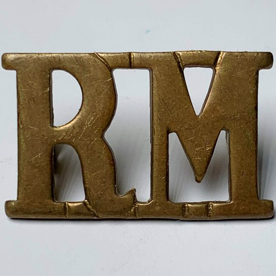 Royal Marines WW1 Royal Marines Corps RM Shoulder Title