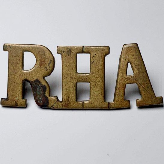 Royal Horse Artillery RHA Royal Horse Artillery Regiment RHA Shoulder Title