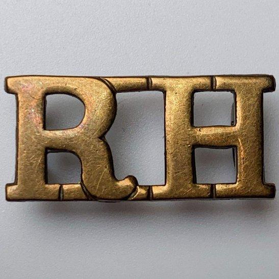 Black Watch WW1 Royal Highland (Black Watch) Regiment RH Shoulder Title - FIRST PATTERN
