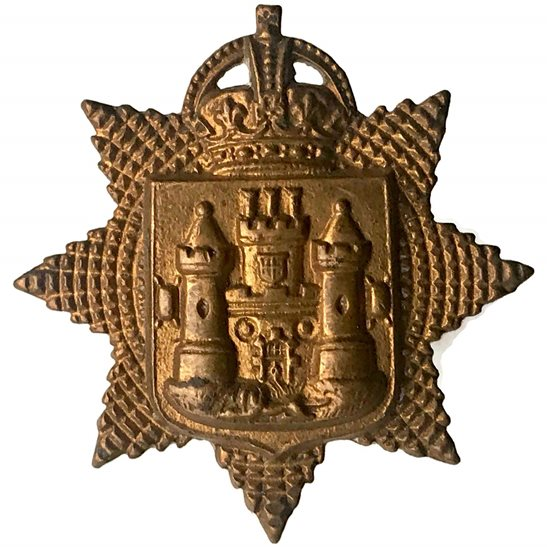 East Surrey East Surrey Regiment Collar Badge