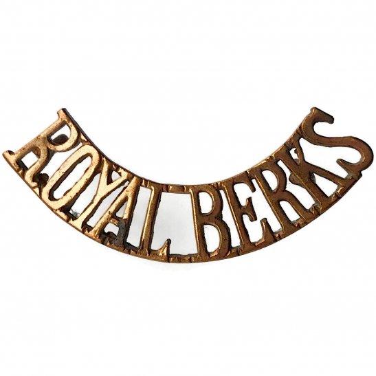Royal Berkshire Royal Berkshire Regiment Shoulder Title