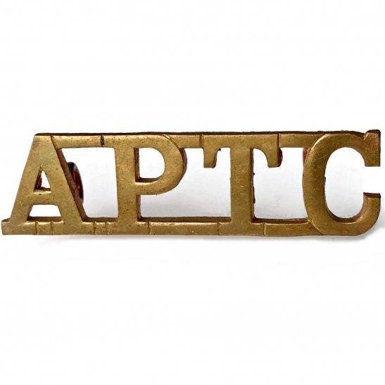 Royal Army Phyical Training Corps RAPTC Royal Army Physical Training Corps APTC Shoulder Title