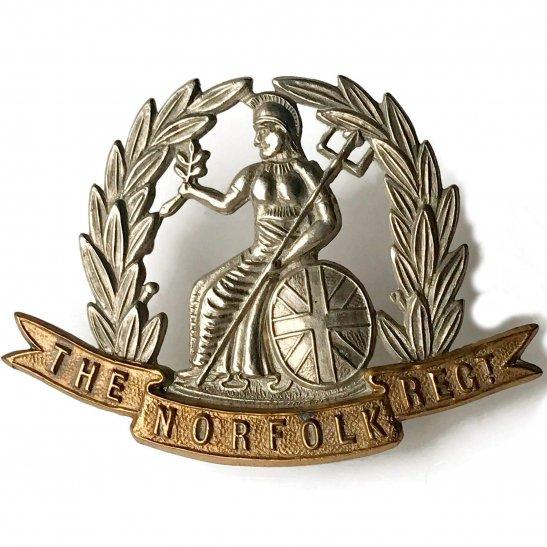 Norfolk Regiment Norfolk Regiment Cap Badge - LUGS VERSION
