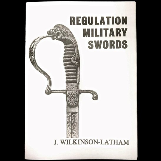 General Service Brtish & Foreign Regulation Military Swords Plate Guide Booklet / Book