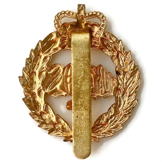 additional image for 2nd Dragoon Guards (Queens Bays) Regiment Cap Badge - Queen's Crown