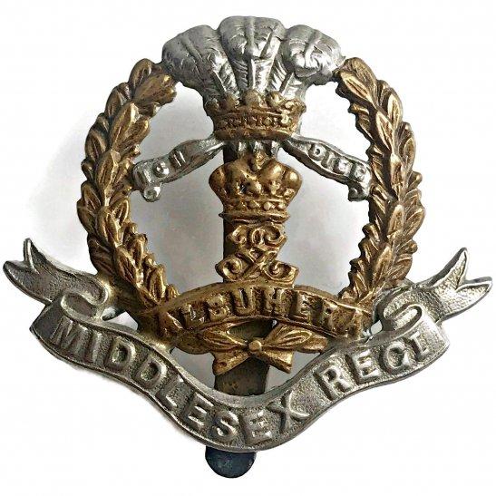 Middlesex Regiment WW1 Middlesex Regiment Cap Badge