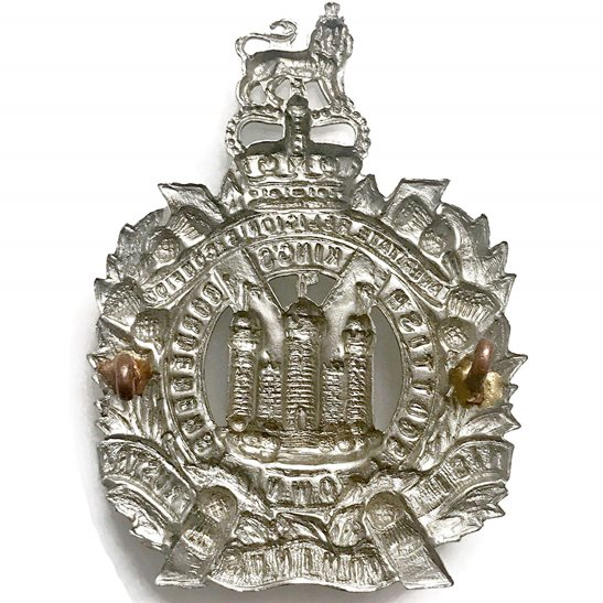 additional image for Queens Crown Kings Own Scottish Borderers Regiment KOSB (King's) Cap Badge