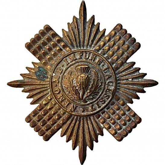 Scots Guards WW2 Scots Guards Regiment (Scottish) Cap Badge