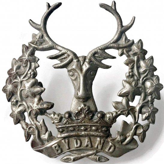Gordon Highlanders WW1 Gordon Highlanders Regiment Cap Badge
