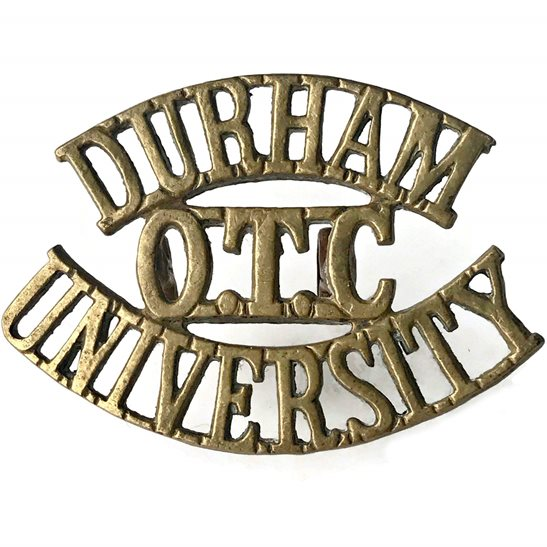 Officer Training Corps OTC Durham University OTC Officers Training Corps Shoulder Title