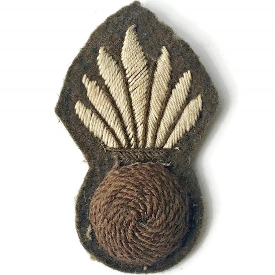 Grenadier Guards Pioneer Rank, Grenadier Guards Regiment Cloth Proficiency Arm / Sleeve Trade Badge