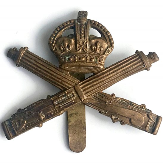 Machine Gun Corps MGC WW1 Machine Gun Corps MGC Cap Badge