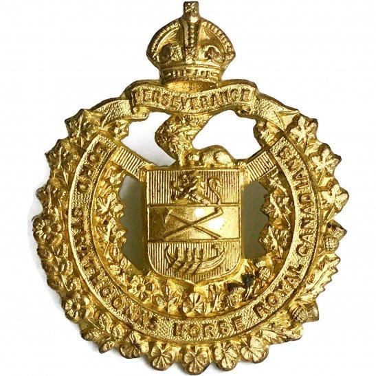 WW2 Canadian Army WW2 Lord Strathconas Horse Royal Canadian Regiment Strathcona's Canada Cap Badge