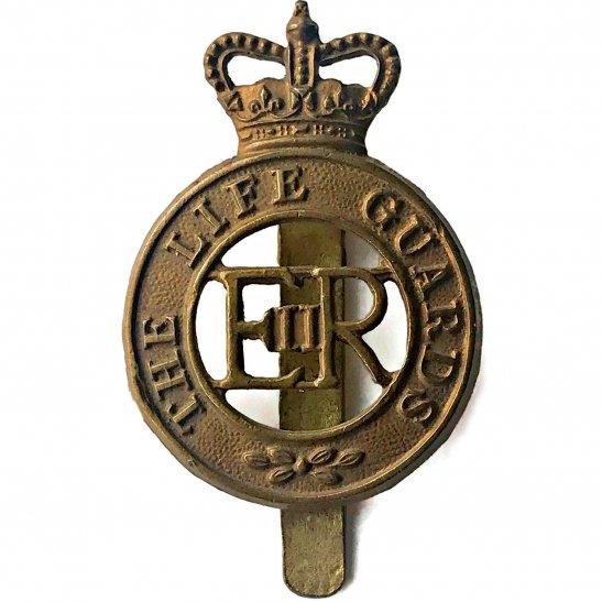 Life Guards The Life Guards Regiment Cap Badge DOWLER BIRMINGHAM - Queens Crown