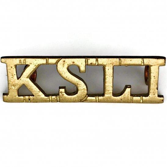 Kings Shropshire Light Infantry KSLI WW2 Kings Shropshire Light Infantry KSLI Regiment King's Shoulder Title