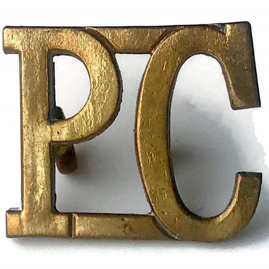 Royal Pioneer Corps Royal Pioneer Corps Shoulder Title