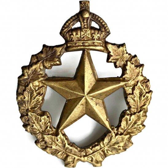 WW2 Canadian Army WW2 Canadian Le Regiment De Montmagny of Canada Cap Badge