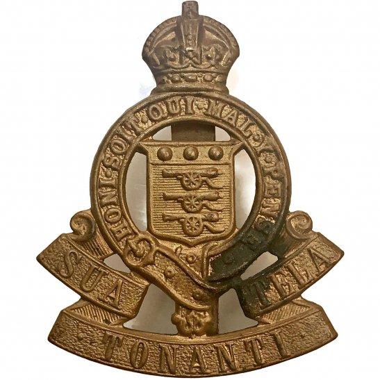 Royal Army Ordnance Corps RAOC Royal Army Ordnance Corps RAOC Cap Badge - 1947 Motto Version