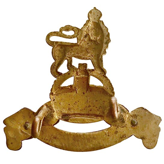 additional image for WW2 Royal Army Pay Corps RAPC OFFICERS Gilt Cap Badge