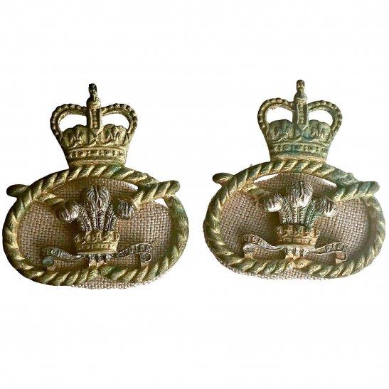 Staffordshire Regiment (Post 1959 Amalgamation) Collar Badge PAIR