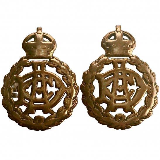 Army Dental Corps WW1 Army Dental Corps ADC Collar Badge PAIR