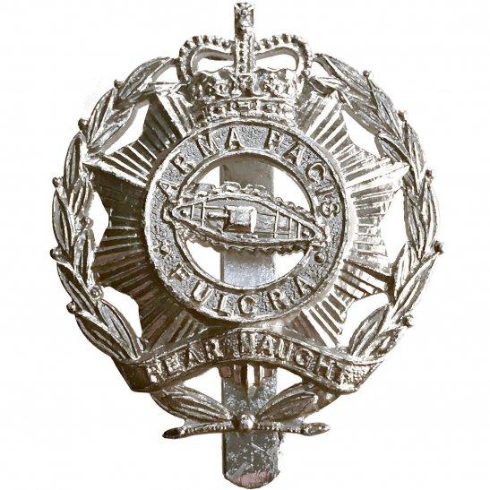 North Somerset and Bristol Yeomanry Regiment Staybrite Anodised Cap Badge - Staybright