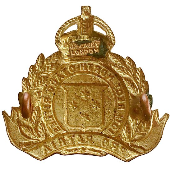 additional image for New Zealand Army 10th North Otago Rifles Regiment Cap Badge