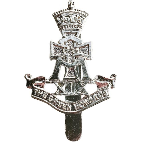 Yorkshire (Green Howards) Green Howards (Yorkshire) Regiment Staybrite Anodised Cap Badge - Staybright