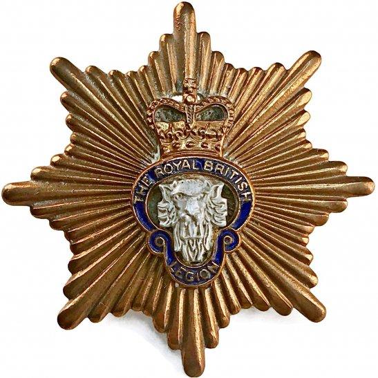Royal British Legion Royal British Legion RBL Standard Bearer's Cap Badge