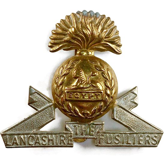 Lancashire Fusiliers WW2 Lancashire Fusiliers Regiment Cap Badge