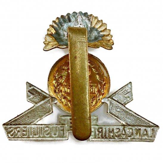 additional image for WW2 Lancashire Fusiliers Regiment Cap Badge