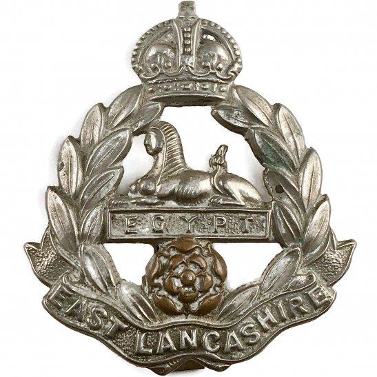East Lancashire WW1 East Lancashire Regiment Cap Badge