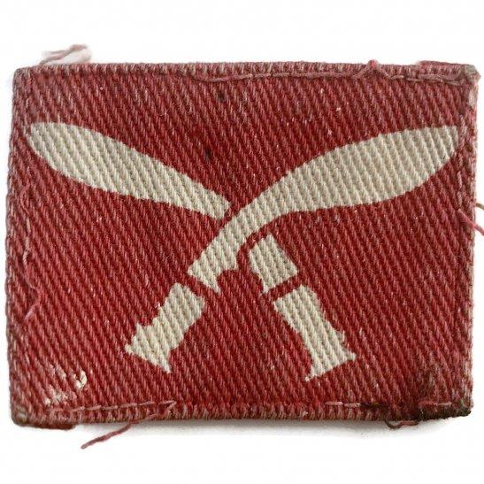 Gurkha Rifles WW2 48th Gurkha Rifle Brigade Cloth Formation Sign Patch Badge