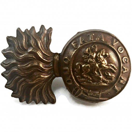 Northumberland Fusiliers Northumberland Fusiliers Regiment Collar Badge