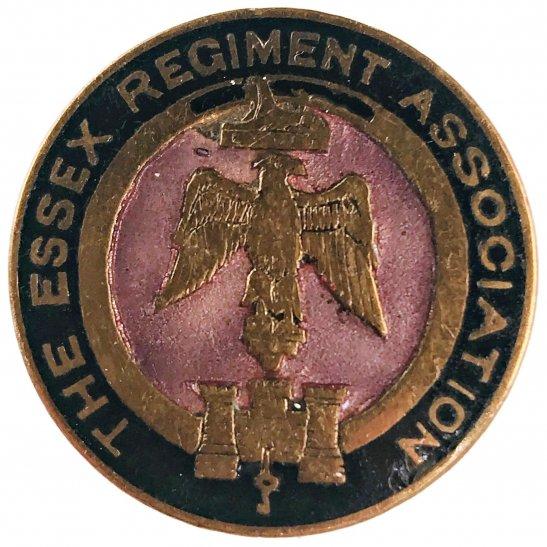 Essex Regiment The Essex Regiment Old Comrades Association OCA Lapel Badge
