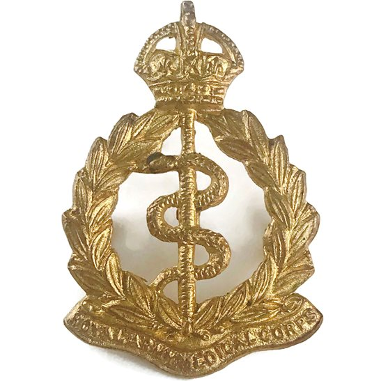 Royal Army Medical Corps RAMC Royal Army Medical Corps RAMC Collar Badge