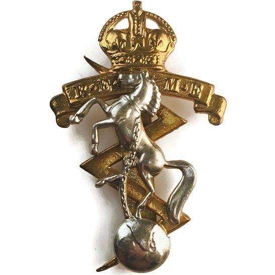 Royal Electrical & Mechanical Engineers REME WW2 Royal Electrical & Mechanical Engineers REME Cap Badge
